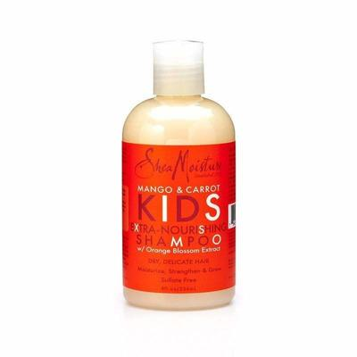 Shea Moisture - Extra Nourishing Shampoo For Children Mango & Carrot - 237ml - Shea Moisture - Ethni Beauty Market