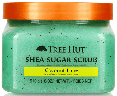 Tree Hut - Sugar And Shea Body Scrub With Coconut And Lime Scent 510G - Tree Hut - Ethni Beauty Market
