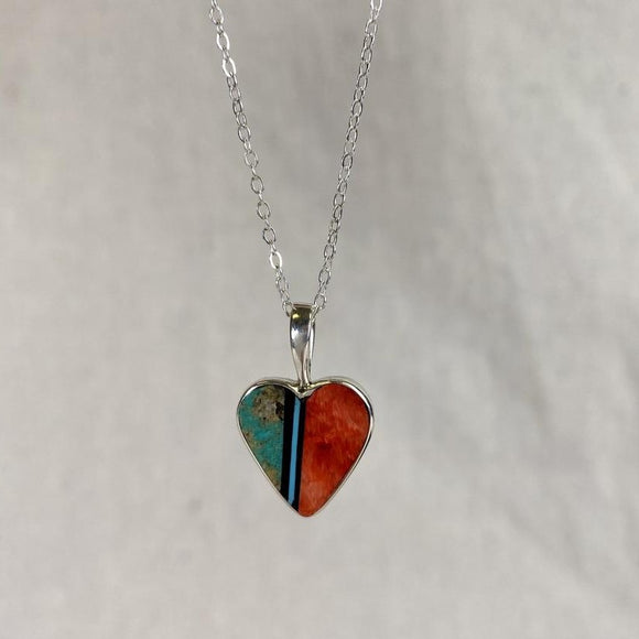 Jimmy Poyer Heart Necklace