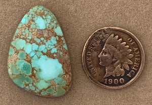 Natural Carico Lake Turquoise Cabochon