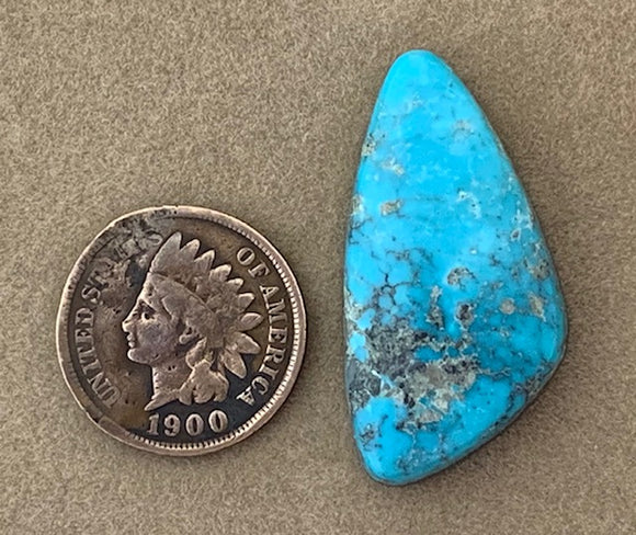 Natural Kingman Turquoise Cabochon