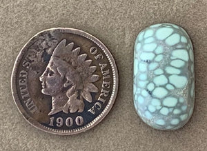 Natural Damale Turquoise Cabochon