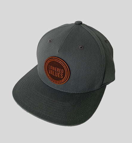 Leather Seal Snapback