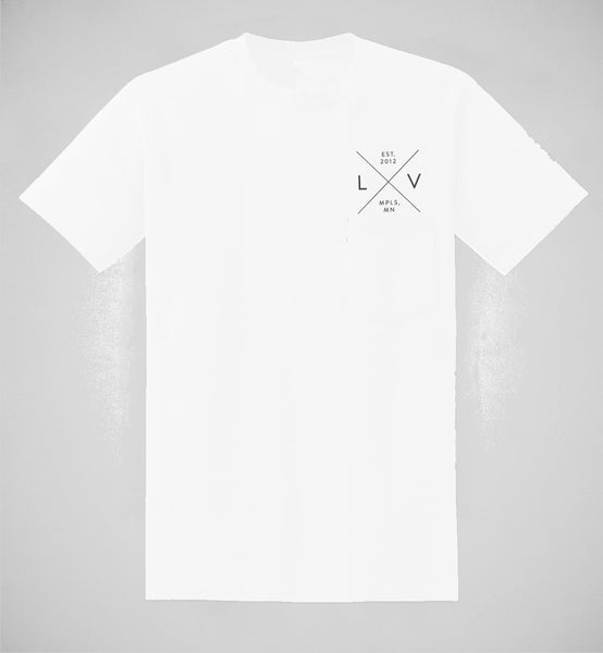 l x v  Men's Pocket Tee