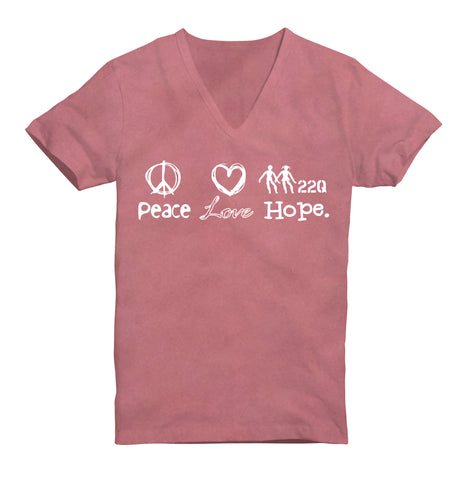 22q Peace, Love, Hope  Ladies'