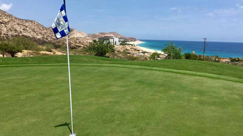 Cabo Real Golf Club Oceanside Green