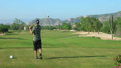 Cabo San Lucas Country Club big drive