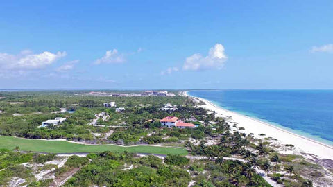 Playa Mujeres Aerial View