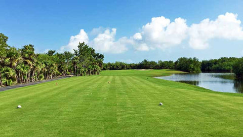 Tee Box at Playa Mujeres