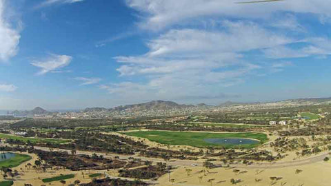 Cabo San Lucas Country Club Aerial View of Course