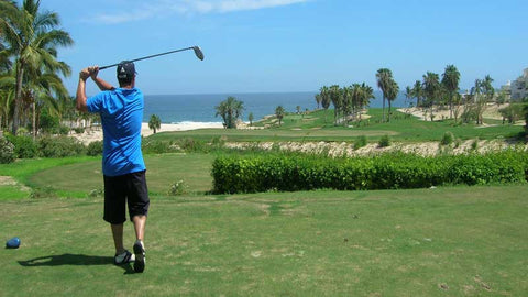 Cabo Real Golf Club tee shot