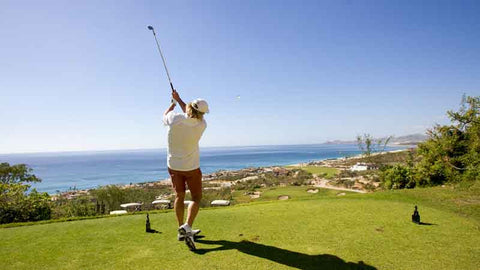 Puerto Los Cabos Greg Norman rips one