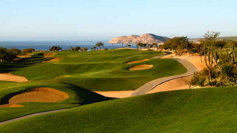 Cabo Real Golf Club bunkered fairway