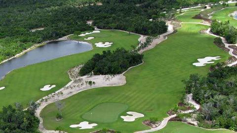 TPC Cancun aerial view