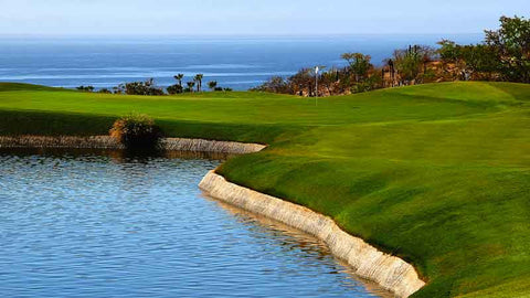 Cabo Real Golf Club water hazard