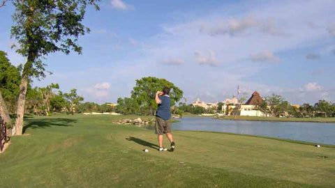 Tee Shot at Hardrock
