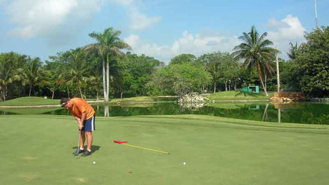 Putting Green at Hardrock Riviera Maya