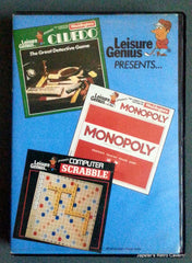 Leisure Genius Presents - Monopoly, Scrabble, and Cluedo   (Compilation) - TheRetroCavern.com  - 1
