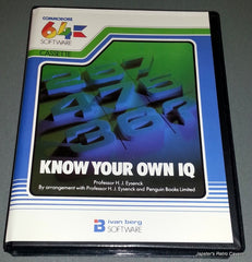 Know Your Own IQ  /  I.Q. - TheRetroCavern.com  - 1