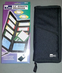 "8 (10 using the outside sleeves) x Floppy Disk Holder/Wallet (3.5"") - TheRetroCavern.com  - 1"