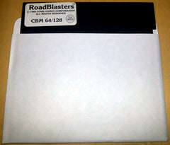 Roadblasters / Road Blasters (DISK ONLY / LOOSE) - TheRetroCavern.com