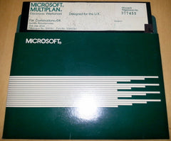Microsoft Multiplan (v1.06) (DISK ONLY / LOOSE) - TheRetroCavern.com  - 1