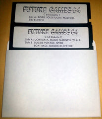 Future Games (COMPILATION) (DISKS ONLY / LOOSE) - TheRetroCavern.com  - 1