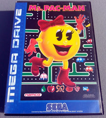 Ms. Pac-man  /  Pacman - TheRetroCavern.com  - 1