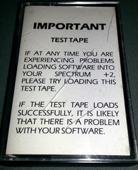 Sinclair Test Tape - TheRetroCavern.com  - 1