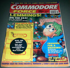 Commodore Force Magazine (Issue 1, January 1993) - TheRetroCavern.com  - 1