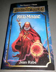 Forgotten Realms - Red Magic - The Harpers 3 (Novel)