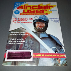 Sinclair User Magazine (No. 28, July 1984)