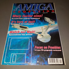 Amiga Computing Magazine - Issue No. 35, April 1991