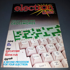Electron User (Vol 4, No 1, October 1986)