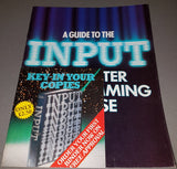 A Guide To The Input Programming Course