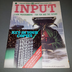 INPUT Magazine  (Volume 1 / Number 13)