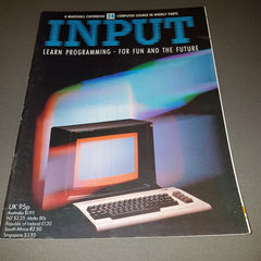 INPUT Magazine  (Volume 1 / Number 24)