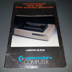 Commodore MPS-802 Dot Matrix Printer User's Guide