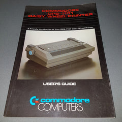 Commodore DPS-1101 Daisy Wheel Printer User's Guide