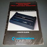 Commodore MPS-803 Dot Matrix Printer User's Guide