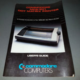 Commodore MPS-801 Dot Matrix Printer User's Guide