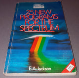 25 New Programs For The Spectrum