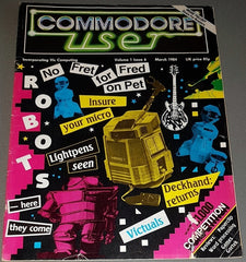 Commodore User Magazine (Volume 1, Issue 6, March 1984)