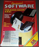 Personal Software - Summer 1984