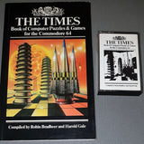 The Times Book Of Computer Puzzles & Games For The Commodore 64 (+ Cassette)