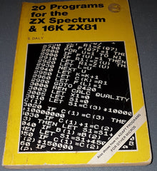20 Programs For The ZX Spectrum & 16K ZX81