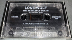 Lone Wolf 3 - The Mirror Of Death   (LOOSE)
