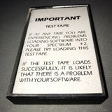 Sinclair Test Tape