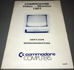 Commodore Video - Monitor 1901 Manual