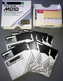 9 x DSDD 5.25 INCH 360KB FUJI FLOPPY DISKS  (PART BOX)